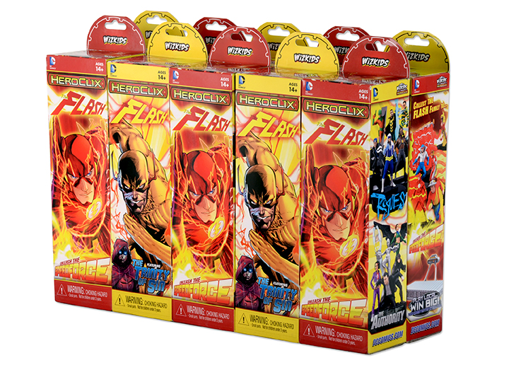 heroclix flash booster