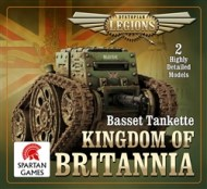 Kingdom of Britannia Basset Tankette