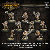 captain sam machorne and the devil dogs mercenary character unit