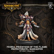 feora priestess of the flame protectorate warcaster