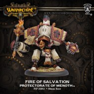fire of salvation protectorate character heavy warjack