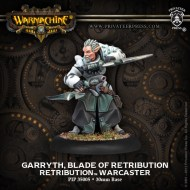 garryth blade of retribution retribution warcaster