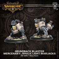 grundback blaster mercenary rhulic light warjacks