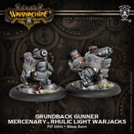 grundback gunner mercenary rhulic light warjacks
