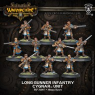 long gunner infantry cygnar unit box