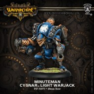 minuteman cygnar light warjack