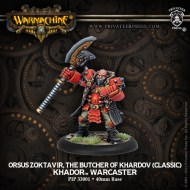 orsus zoktavir the butcher of khardov khador warcaster
