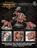 orsus zoktavir the butcher unleashed khador epic warcaster unit