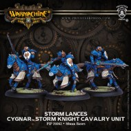 storm lances cygnar storm knight cavalry unit