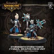 stormsmith storm tower cygnar weapon crew unit