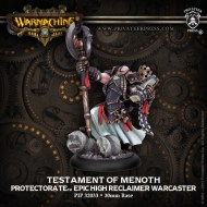 testament of menoth protectorate epic high reclaimer warcaster