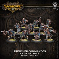 trencher commandos cygnar unit